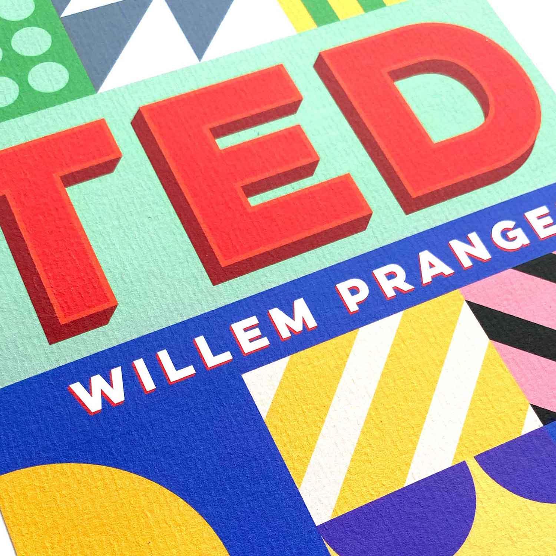Geboortekaartje Ted
